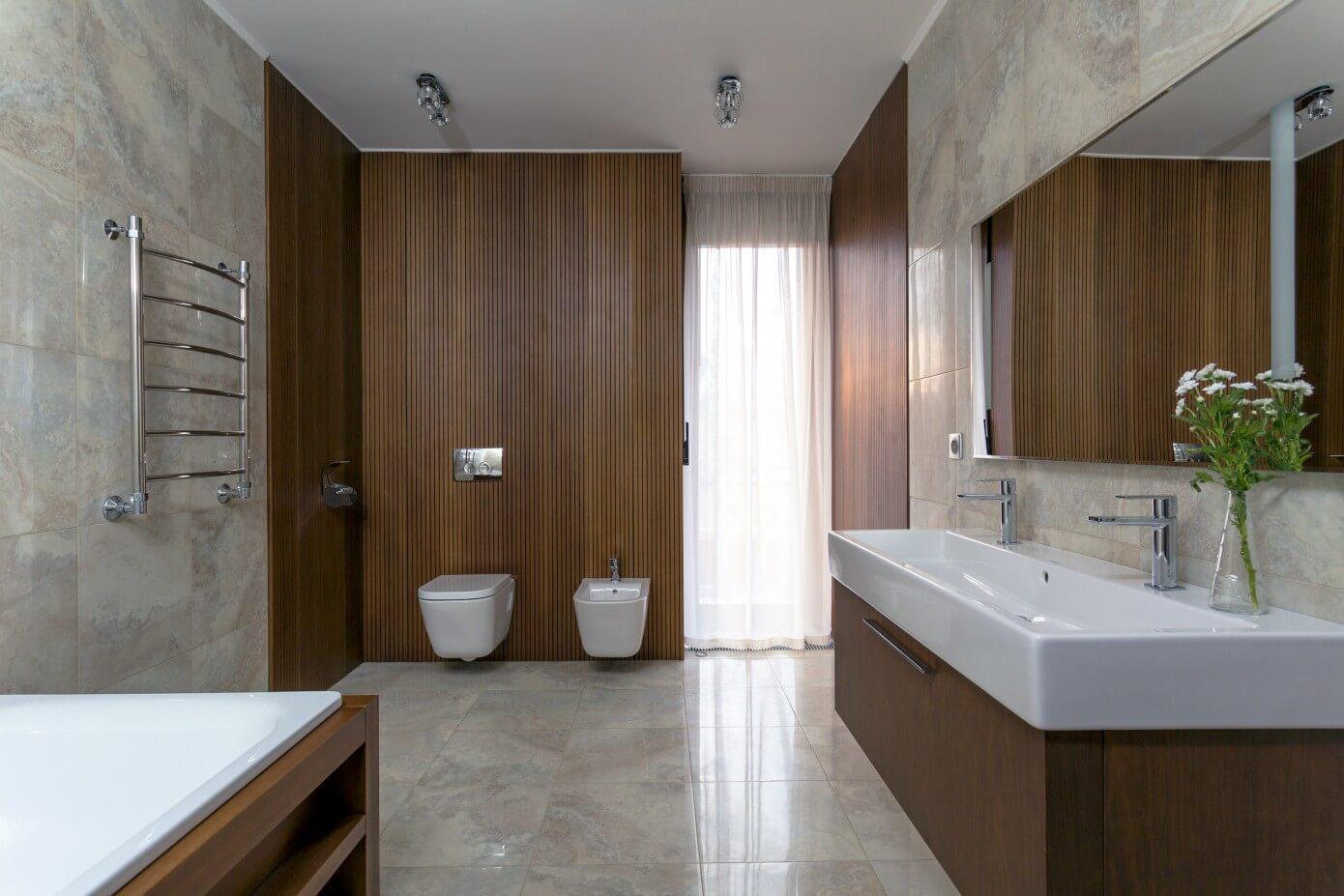 Секреты проектирования ванной для загородного  коттеджа