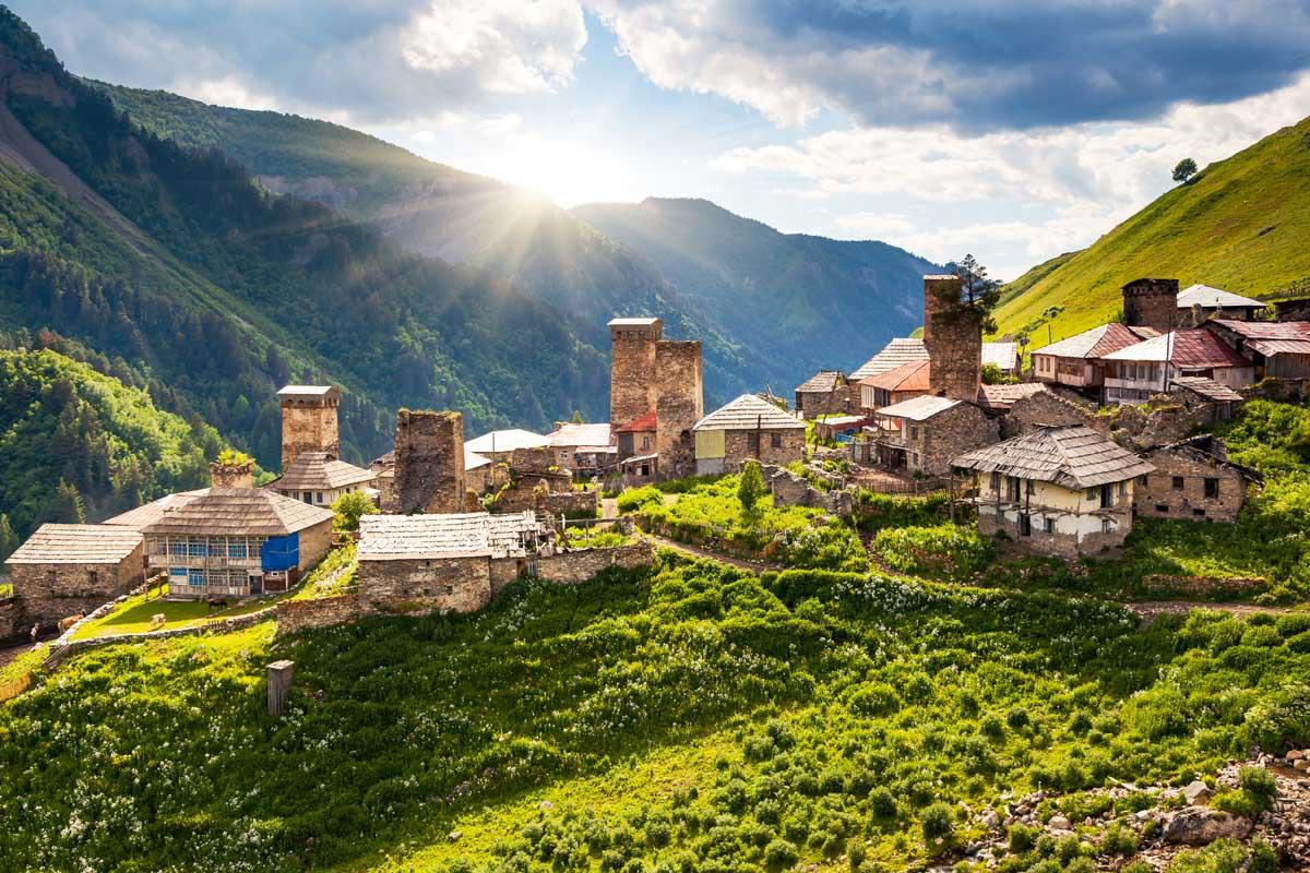 Как легче всего посетить солнечную Грузию?
