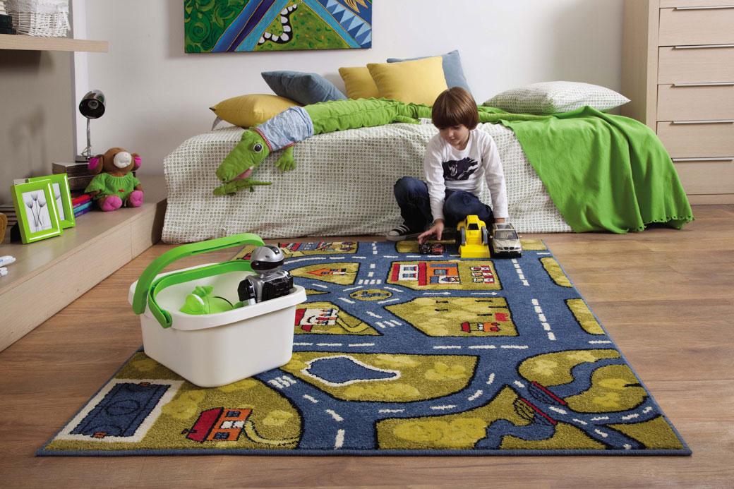 Безопасные ковры для детской комнаты