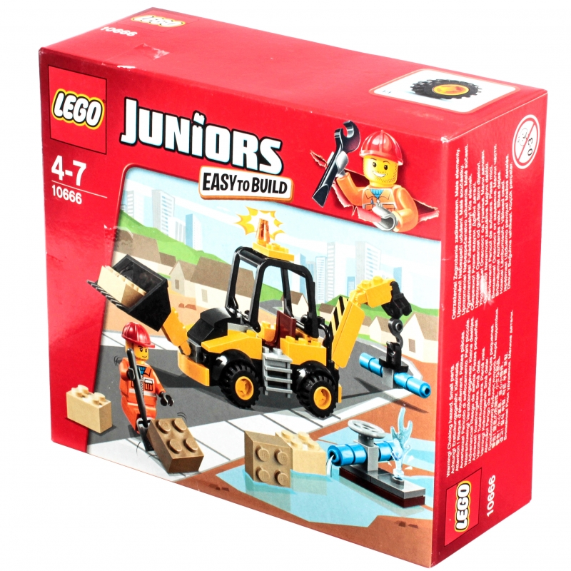 LEGO Juniors - конструктор, который развивает ребенка