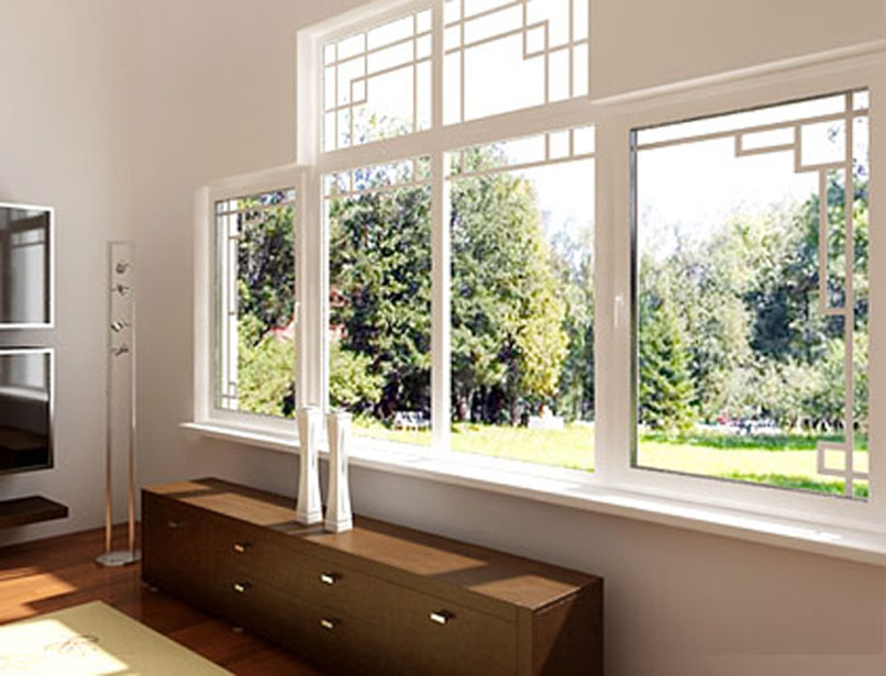 Дизайн пластиковые окна