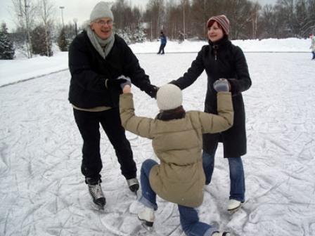 Катки Москвы - Каток Марьино