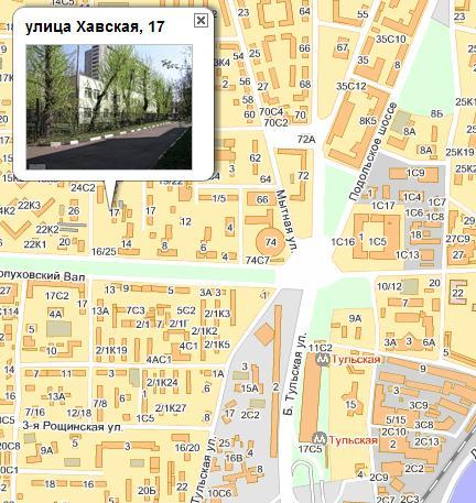 метро Тульская (ЮАО)